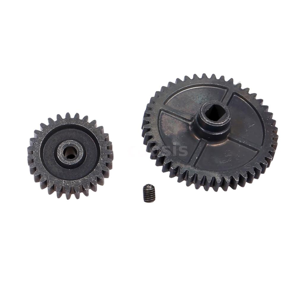 Details about  /For WLtoys XKS 144001 1//14 RC Car Metal Motor Gear Kit Spur Gear Main Gear I1C2